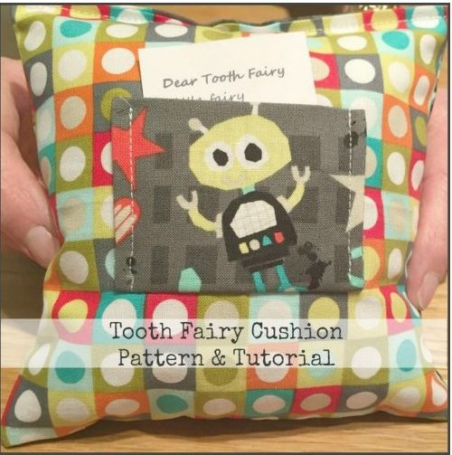 TUTORIAL: Sewing a Tooth Fairy Pillow