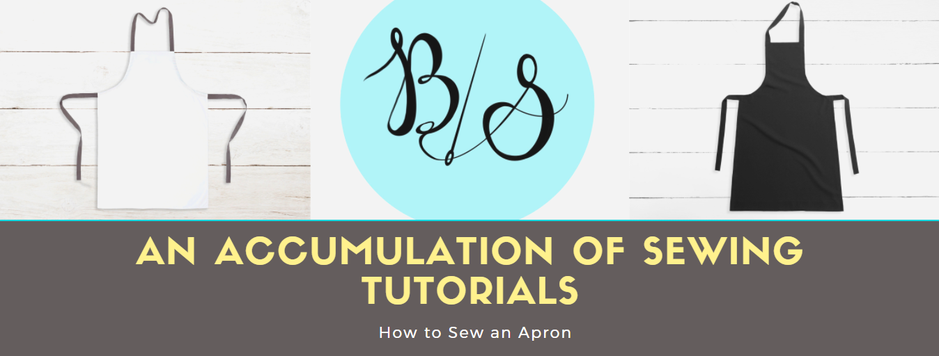 TUTORIAL: How to Sew an Apron