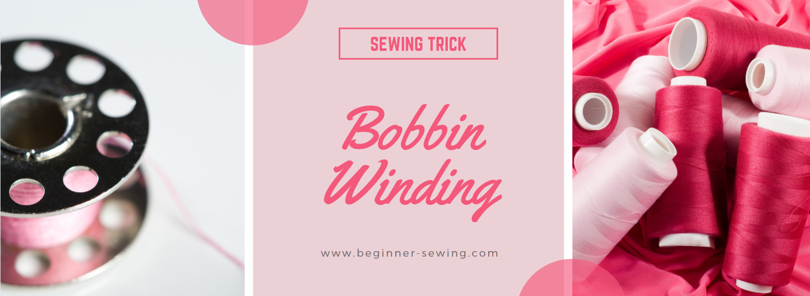 VIDEO: Bobbin Winding Sewing Trick