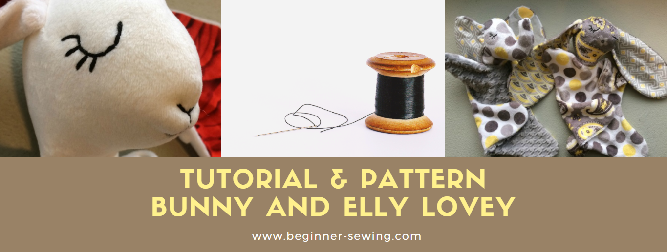 TUTORIAL & PATTERN: Snuggle Bunny & Snuggle Elly