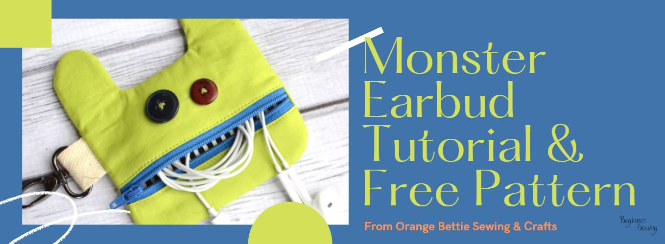 Earbud Pouch Sewing Tutorial