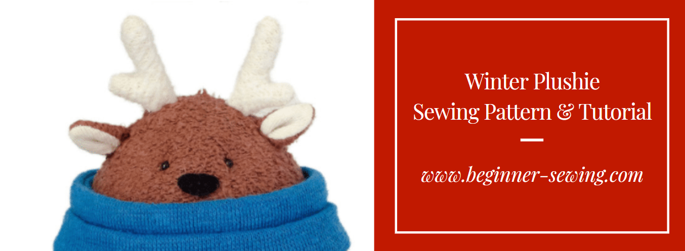 Winter Plushie Sewing Pattern and Tutorial
