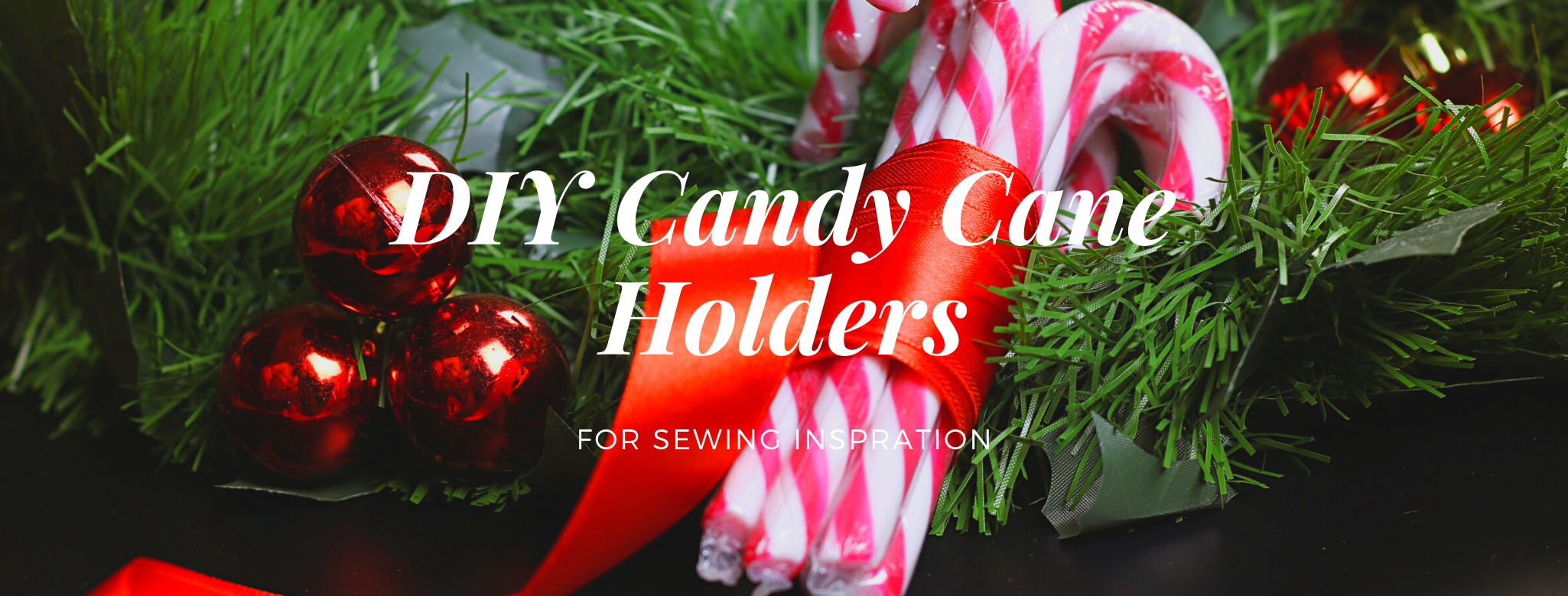 DIY Candy Cane Holders for Inspiration