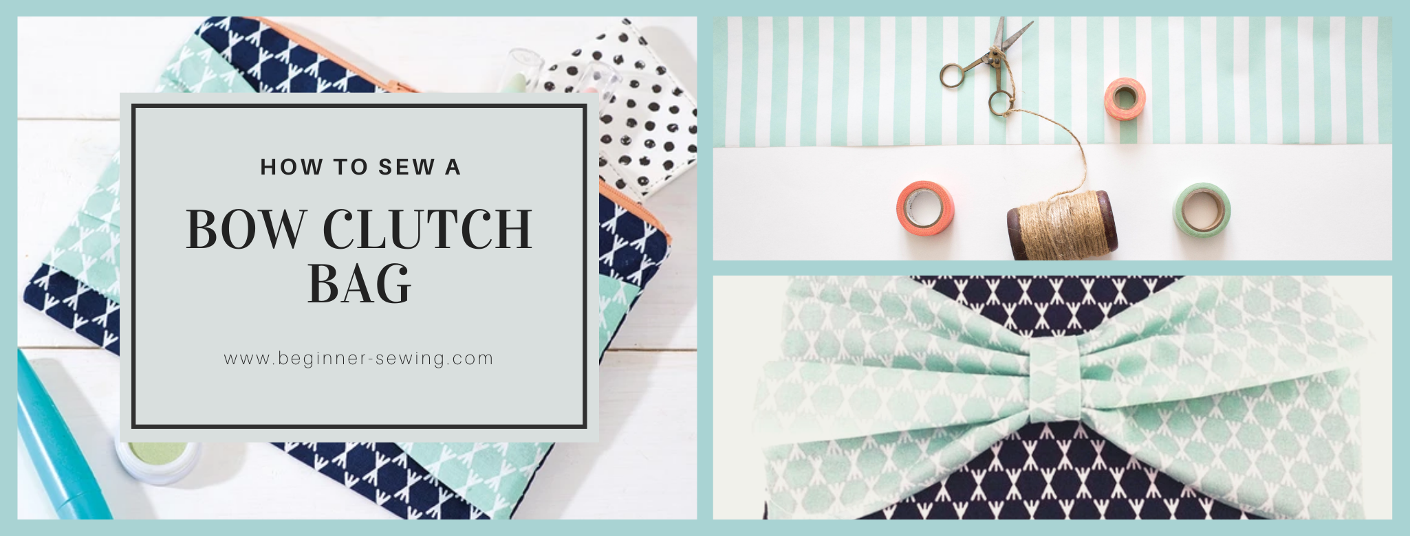 How to Sew a Clutch Bag for Beginners