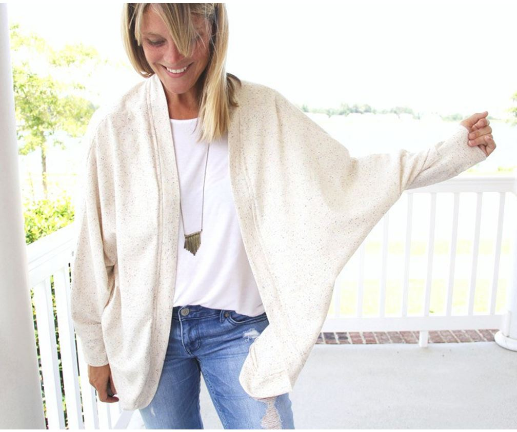 How to Sew the EASIEST Cardigan Tutorial