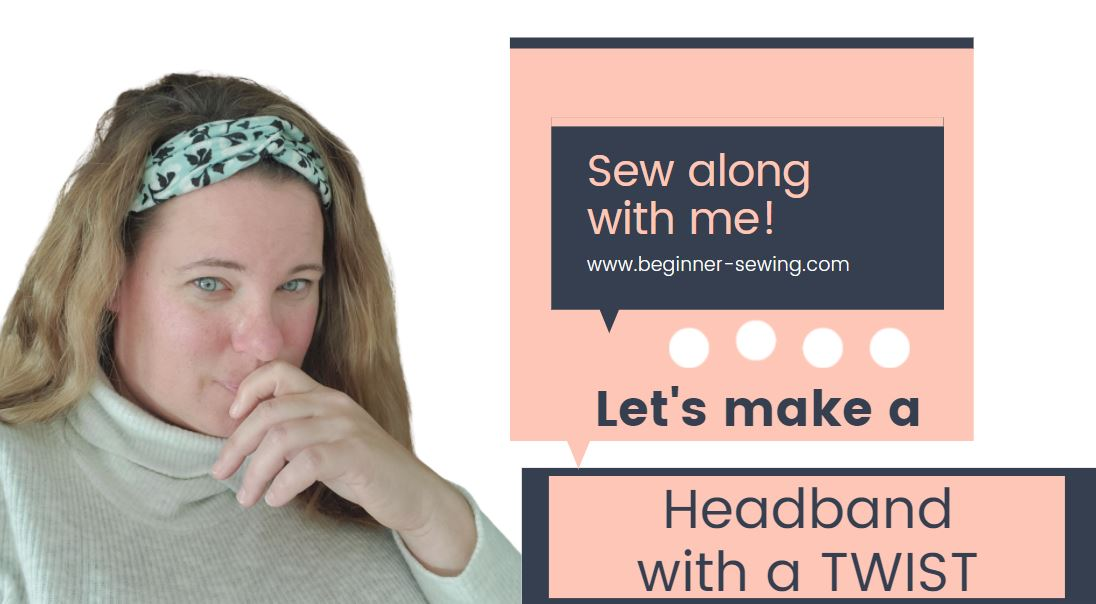 How to Sew a Headband ~ With a Twist
