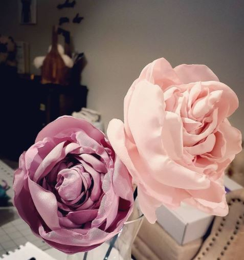 Learn How to Sew Fabric Flowers
