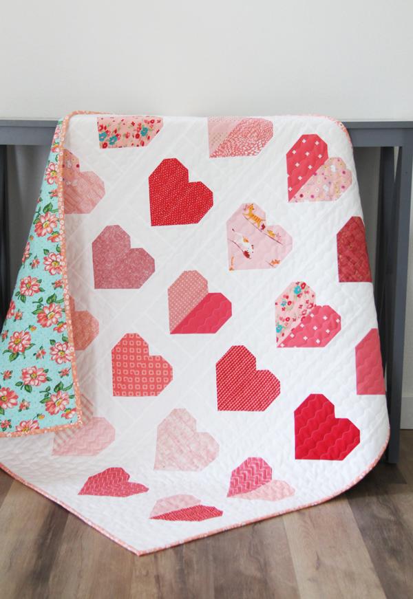 Simple Heart Quilt Block
