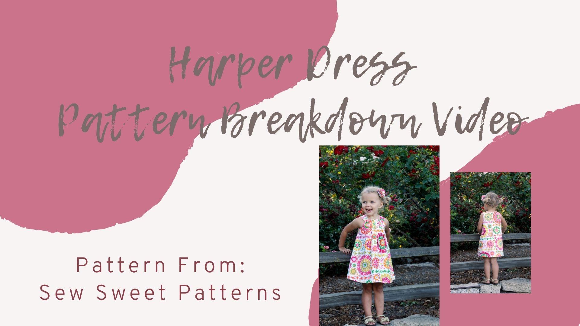VIP Exclusive: Video Tutorial Breakdown – The Harper Dress
