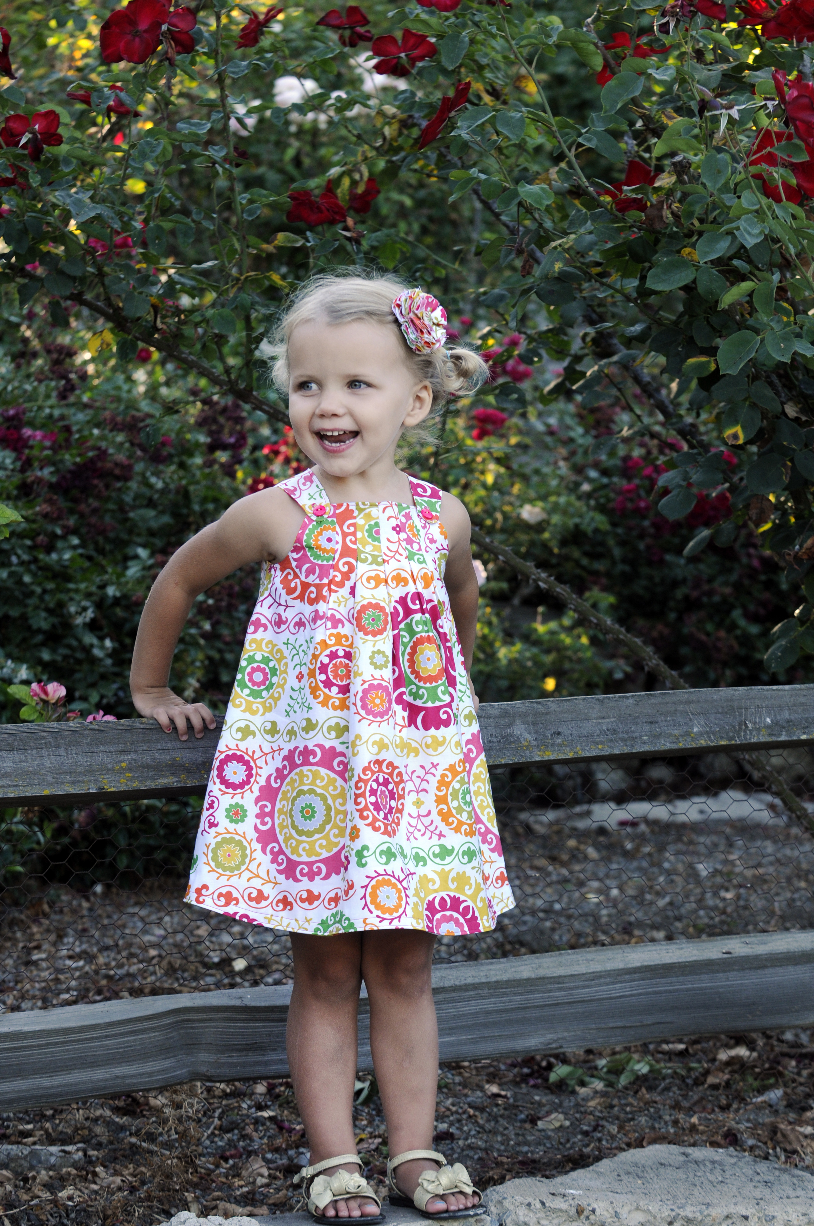 The Harper Dress from Sew Sweet Patterns