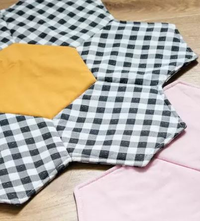How to Make a Hexagon Placemat