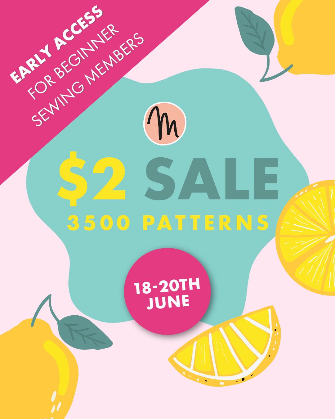 Makerist $2 Pattern Sale & Recommendations