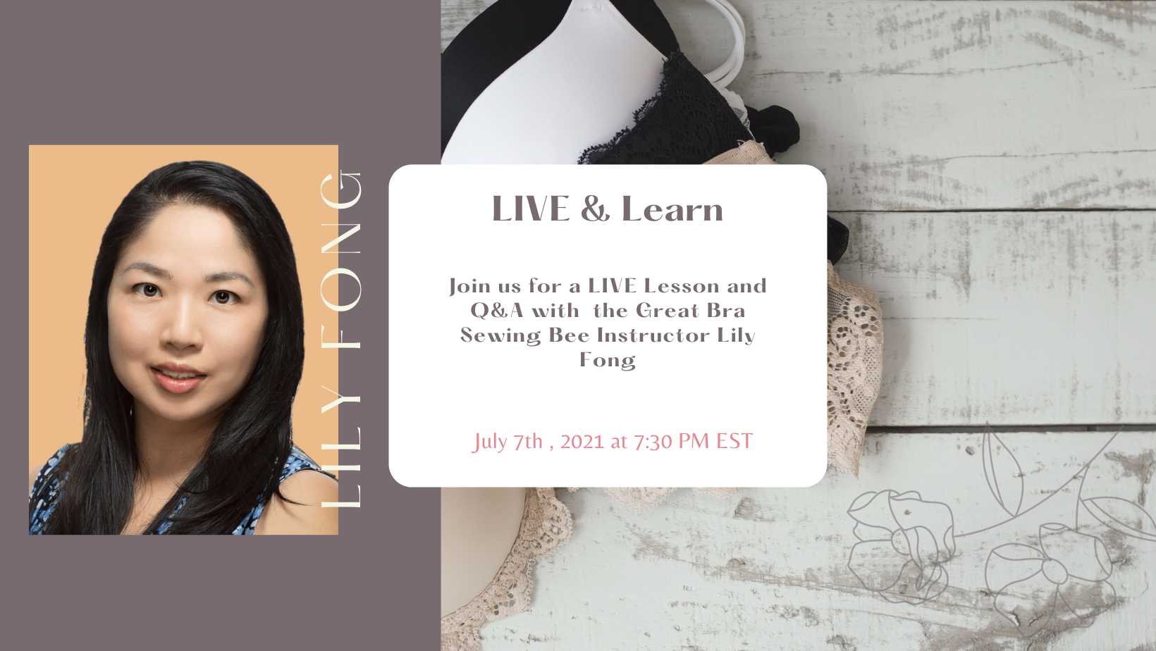 LIVE & Learn with Lily Fong